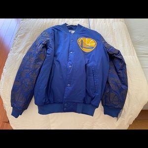 Golden State Warrior Bomber Jacket